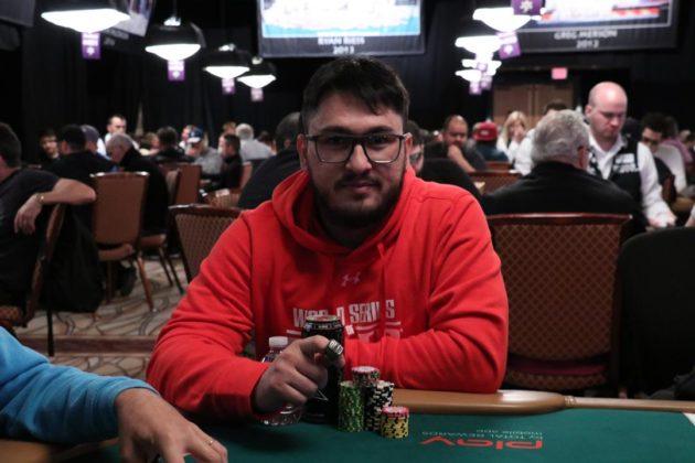 Andrew Zeus - Evento 62C - WSOP 2018