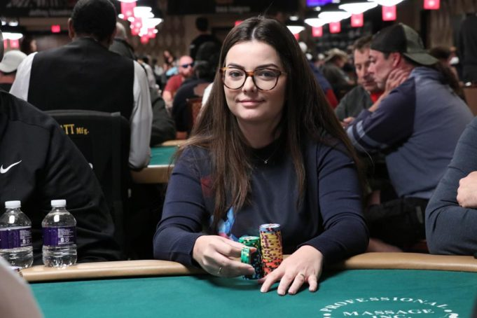 Laurie Tournier - Evento 65B - WSOP 2018