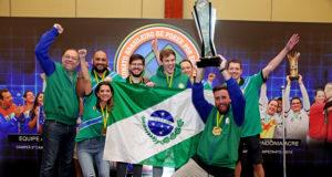Seleção Paranaense campeã do CBPE 2018