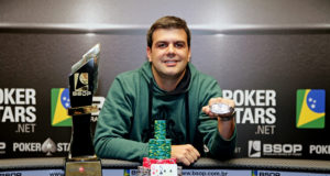 Victor Nicolato - Campeão Main Event BSOP São Paulo