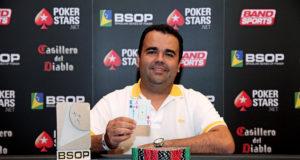 Marcos Barbosa campeão do 6-handed Turbo Knockout do BSOP São Paulo