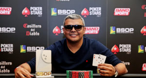 Wilder Brito - Campeão Last Chance Deepstack - BSOP São Paulo