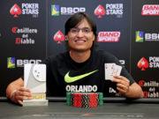 Fernando Araújo campeão do 6-handed do BSOP São Paulo