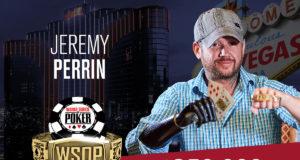 Jeremy Perrin campeão do Evento Giant da WSOP