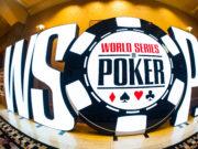 Letreiro placa WSOP 2018