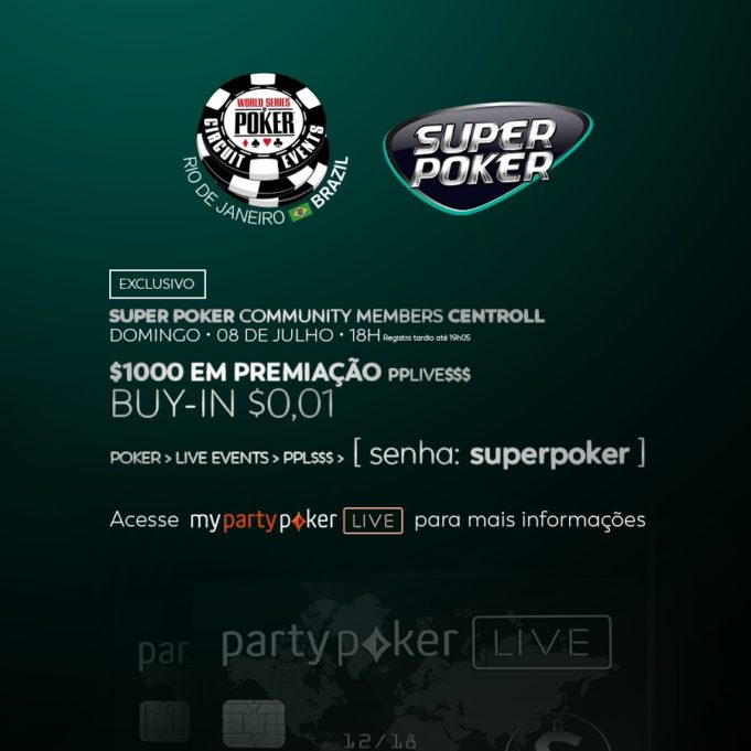 Torneio especial do SuperPoker no partypoker
