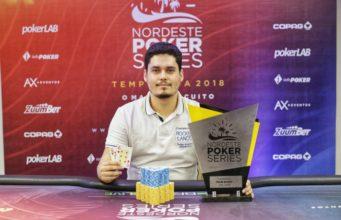 Gabriel Bonfim campeão do Main Event do NPS João Pessoa