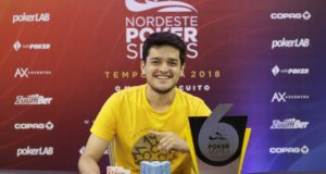 Lucas Baruc campeão do 6-Max do NPS João Pessoa