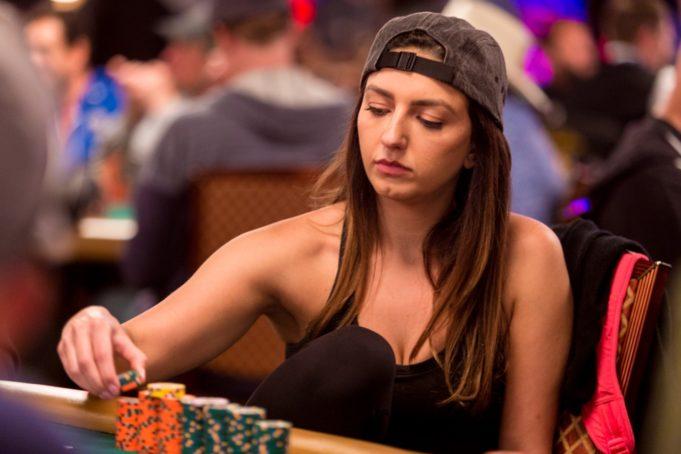 Kelly Minkin - WSOP 2018