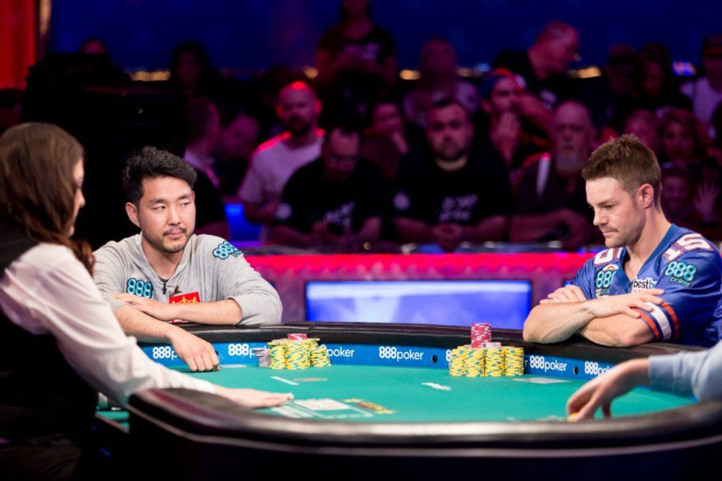 John Cynn e Tony Miles - WSOP 2018