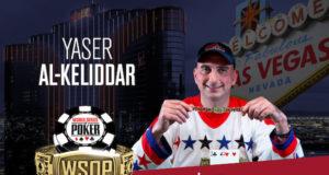 Yaser Al-Keliddar campeão do Evento #70 da WSOP