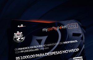 Promoção PP LIVE $$$ para a WSOP Brazil