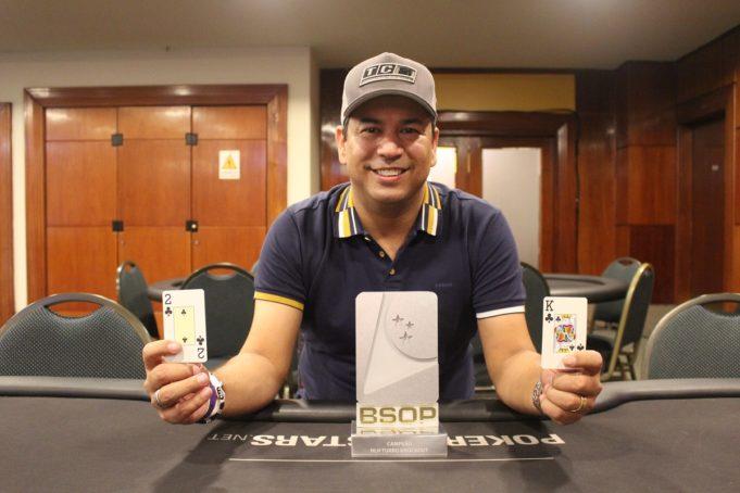 Rogério Siqueira - Campeão Turbo Knockout BSOP São Paulo