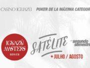Satélites para o Iguazú Master Series no Casino Iguazú