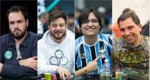 Bernardo Dias, Fabiano Kovalski, Fernando Araújo e Walter Oaquim