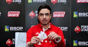 Maximiliano Castagnini - Campeão 6-Handed Knockout - BSOP Iguazu