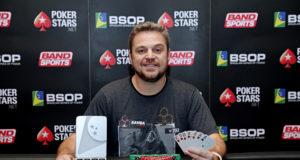 Rodrigo Garrido - Campeão 8-Game Mix BSOP Iguazu