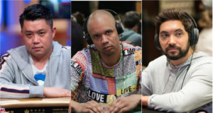 Ivan Leow, Phil Ivey e Timothy Adams