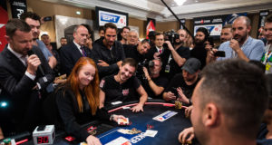 Guillaume Diaz bolha do Main Event do EPT Barcelona