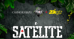 Satélite para o Iguazú Poker Adventure