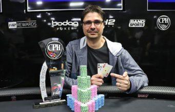 Alexandre Fracari - Campeão Main Event 4º CPH - 2018
