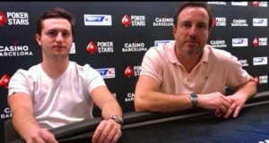 Luca Pastore e Fernando Pastore no EPT Barcelona
