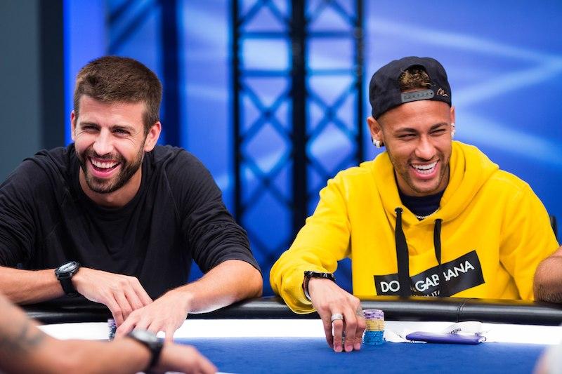 Gerard Pique e André Akkari - EPT Barcelona