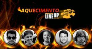 Aquecimento LineUP - Brasil Poker Live
