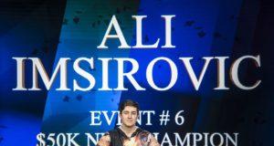 Ali Imsirovic campeão do Evento #6 do Poker Masters