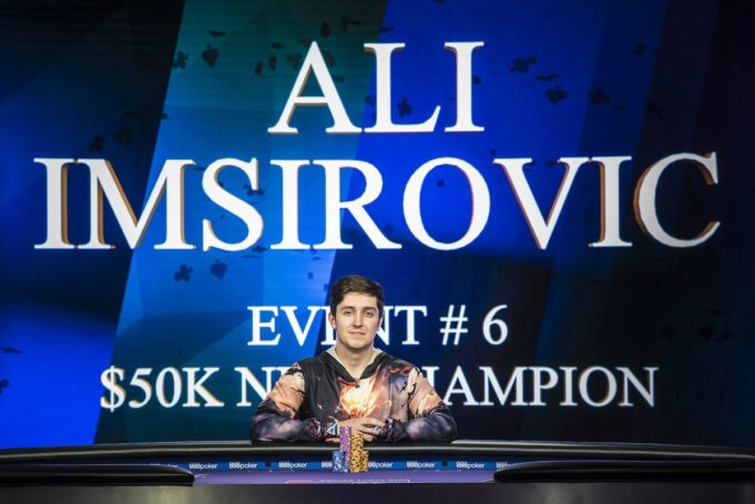 Ali Imsirovic campeão do Evento #6 do Poker Masters