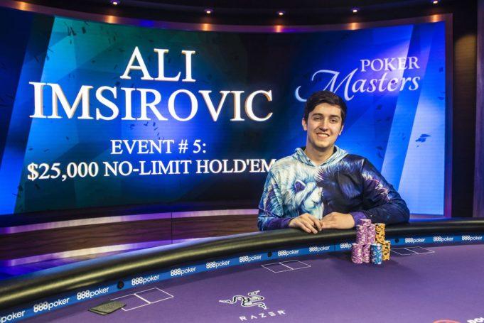 Ali Imsirovic campeão do Evento #5 do Poker Masters
