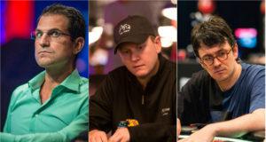 Brandon Adams, Ben Lamb e Isaac Haxton