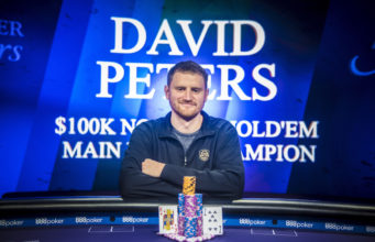 David Peters campeão do Evento #7 do PokerMasters