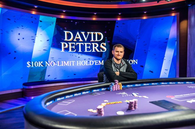 David Peters campeão do Evento #1 do Poker Masters