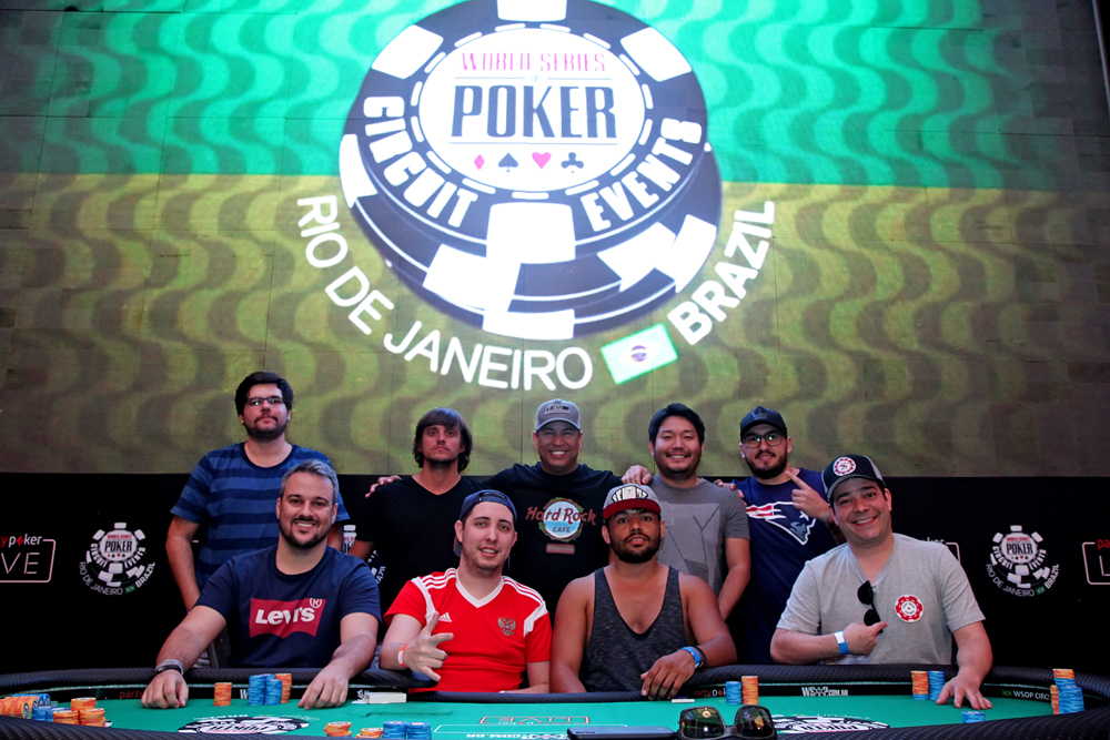Mesa Final Big Challenger WSOP Brazil Rio