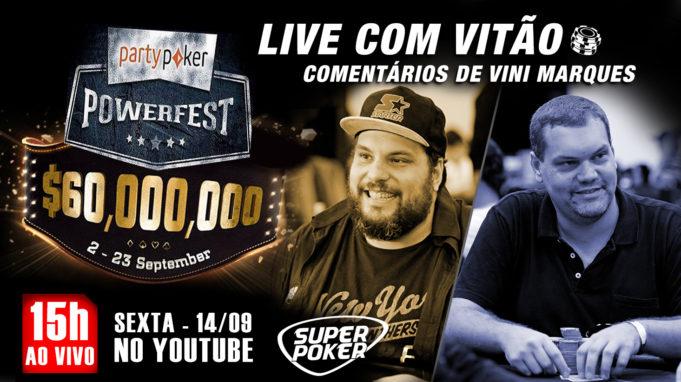 Live com Vitão e Vini Powerfest