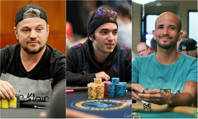 Rodrigo Garrido, João Sydens e Alexandre Mantovani