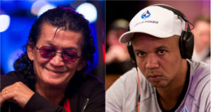 Scotty Nguyen e Phil Ivey