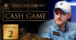 Cash Game Triton Super High Roller Series