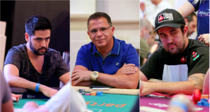 Thiago Decano, Roberly Felício e André Akkari - WSOP Brazil Rio