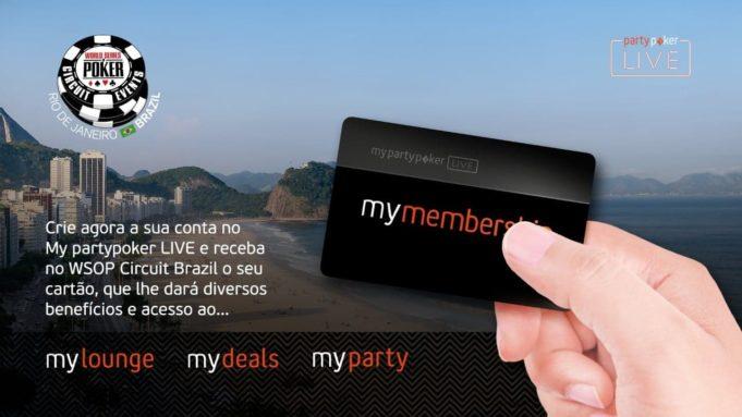 My Member Ship - WSOP Circuit Brazil Rio