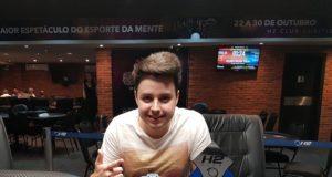 Willian Miquelissa campeão do Curitiba Poker Tour