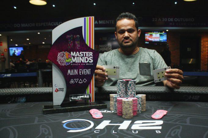 Célio Moraes - Campeão Main Event MasterMinds 11