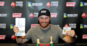 Amauri Grutka campeão do Last Chance Deepstack Turbo do BSOP Floripa