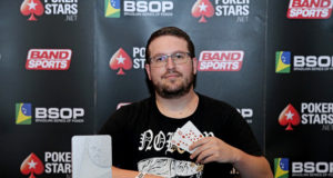 André Constantino Campeão do No Breaks do BSOP Floripa