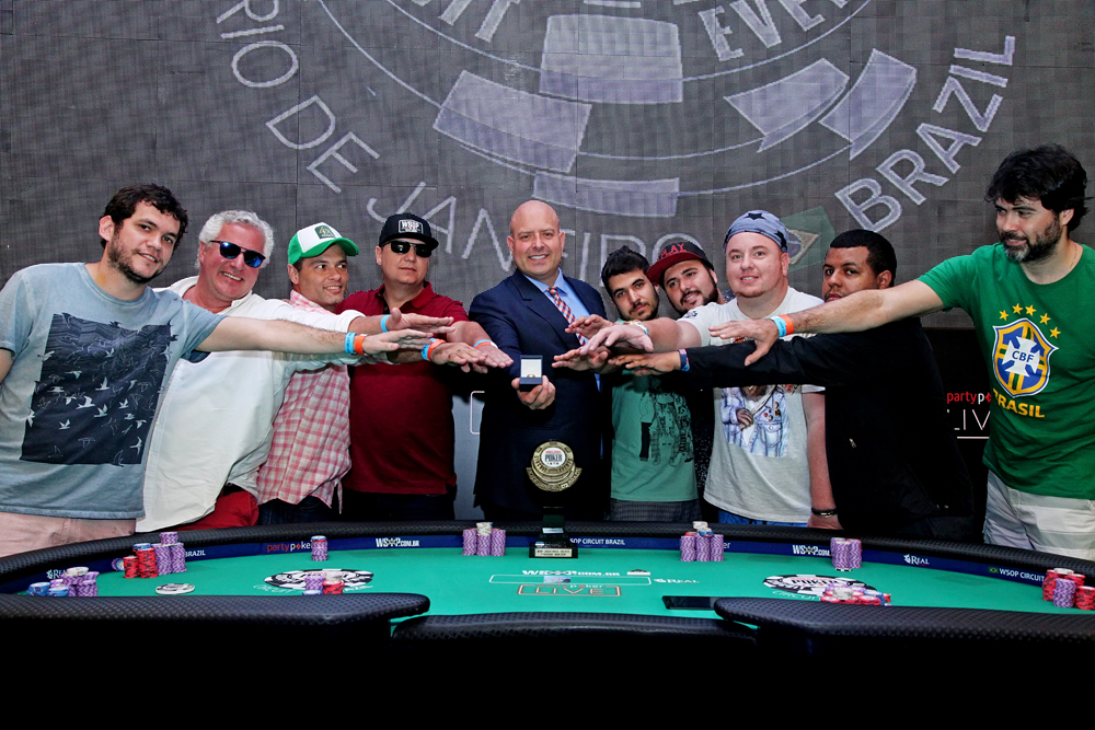 Mesa Final Main Event WSOP Brazil Rio