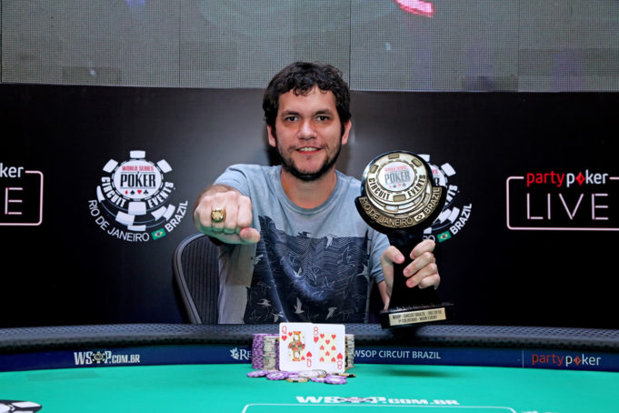 Jordan Piva - Campeão Main Event WSOP Brazil Rio