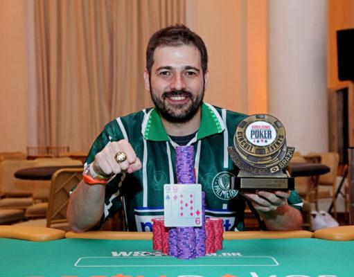 """Marco """"Salsicha"""" Alves - Campeão High Roller WSOP Brazil Rio"""