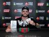Wagner Monteiro campeão do Start Up do BSOP Floripa