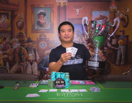 Jianchang Zhen - Campeão Iguazu Master Series